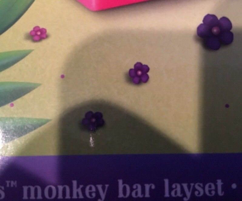 Fingerlings Monkey Bar Playset Exclusive Liv