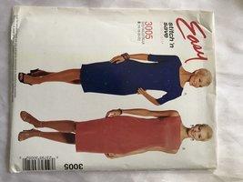 Easy Stitch 'n Save 3005 Semi-fitted sheath dress - $6.30