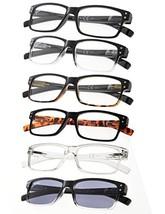 Reading Glasses 6-Pack Spring Hinges Includes Sunshine Readers +2.25 - $20.53