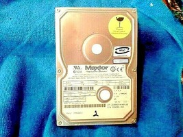 MAXTOR IDE 10 GB HARD DRIVE MODEL 31024H1 P/N 204523-001 MIC E-H011-00-3... - $49.99
