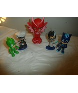 PJMasks Figures Gekko, Catboy, Owlette & Others - $12.82