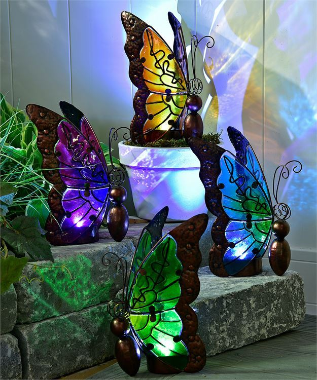 Nature's Conservatory Decorative Butterfly Design LED Lighted Decor image 2