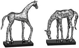 Uttermost 19967 Lets Graze Horse Statues, Set of 2 - $173.80
