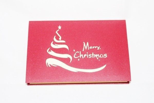 Santa Pull Reindeer Pop Up Greeting Card HandmadeHappy Birthday Anniversary 62