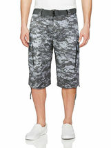 Men's Tactical Military Army Camo Camouflage Slim Fit Cargo Shorts With Belt image 7