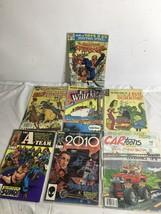 Lot Of 7 Vtg Comics Spider Man CARtoons J. Evil Scientist Whiz Kids Bill... - $10.22