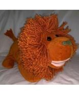 """Gymboree 2003 Plush Orange Lion Full Body Hand Puppet 14"""" Yarn Mane EUC - $17.81"""