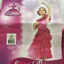 Rubies SPANISH PRINCESS COSTUME Girls M Flamenco Dress - $23.76