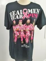 Duck Dynasty Real Men Wear Pink Black Large Cotton T-Shirt Gildan Heavy - $13.10