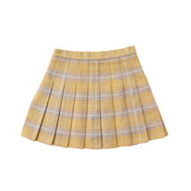 Wool-blend Red Plaid Skirt Women Girl Winter Plaid Skirt Outfit Plus Size Pleat image 10