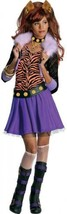 Small Girls Clawdeen Wolf Monster High Costume Home Halloween Holiday Ki... - $49.32