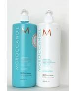 Moroccanoil Clarify Shampoo And Hydration Conditioner 33.8 Fl oz - $84.99