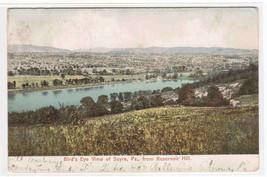 Panorama Sayre Pennsylvania 1906 postcard - $5.94