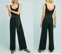 Anthropologie The Essential Belted Jumpsuit Sz 6 - NWT - $119.99