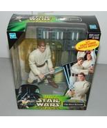 Star Wars Power of the Jedi Mega Action Obi-Wan Kenobi POTJ Lightsaber B... - $24.74