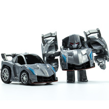 Blue mini robot car transformers action figures for children play game 06 thumb200