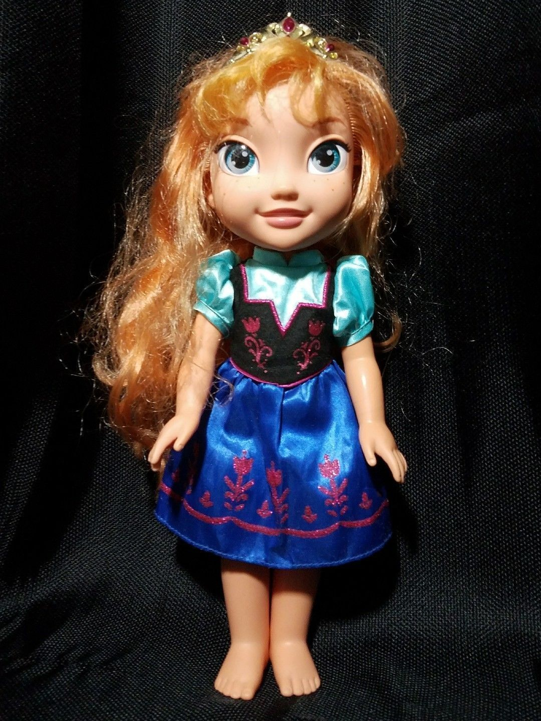 Disney Tollytots Limited Anna Doll From Frozen 15 inches