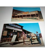 Calico Ghost Town 60's Hwy 91 Barstow, CA Owned by Walter Knott X2 Postc... - $5.00