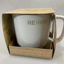 Starbucks Renew 2009 Coffee Mug 14 oz NEW Toki Japan Recycled Clay - $27.93