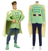 Prince Naveen Costume Men Suit Halloween Party Outfit Custom Any Size - $119.96