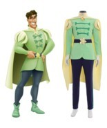 Prince Naveen Costume Men Suit Halloween Party Outfit Custom Any Size - £93.42 GBP