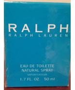 Ralph Ralph Lauren Eau De Toilette Natural Spray 1.7 Oz. New In Box NICE! - $49.98
