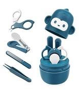 Bamoer Baby Nail Kit, Baby Nail Care Set 4-in-1 Including Baby Nail (Blue) - $15.66