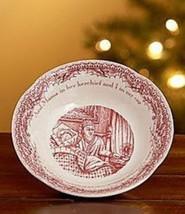 3 FRUIT SAUCERS JOHNSON BROTHERS TWAS THE NIGHT BEFORE CHRISTMAS NEW - $42.56