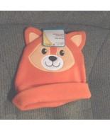 New Angel Of Mine Infant Baby hat Orange Fox One Size - $3.25