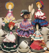 Annies Attic Southwest American Irish Prairie Dishcloth Darlings Crochet Pattern - $12.99