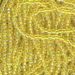 Primary image for 11/0 Seed Bead Rocaille Half Hank Yellow 4