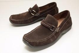 Donald J Pliner 8 Brown Suede Loafers Men's - $68.00