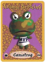 Camofrog 100 Animal Crossing E-Reader Card Nintendo GBA - $9.99