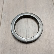 """4"""" Wrought Iron Forged O Ring Ornamental Gate Tubing Ring 