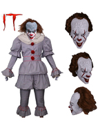 Stephen King's It Pennywise Full Cosplay Costume Halloween Suit - $139.99+