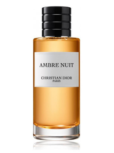 AMBRE NUIT by DIOR 10ml Travel Spray Pepper Bergamote Rose Perfume