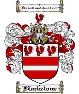 Blackstone Family Crest / Coat of Arms JPG or PDF Image Download - $6.99