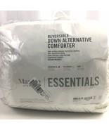 Martha Stewart TWIN/TWIN XL Comforter Essentials Down Alternative Revers... - $14.80