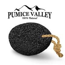Pumice Stone - Natural Earth Lava Pumice Stone Black - Callus Remover for Feet H image 4