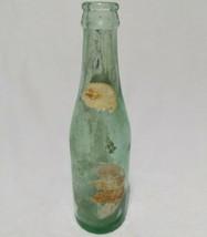 Dr. Pepper Soda Bottle Heavy Thick Green Glass 6 1/2 FL OZ Vintage - $6.65