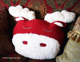 Pottery Barn Kids Cozy, Comfy Moose Pillow -NWT- Hoof It For Some Holiday Fun! - $39.95