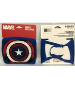 Captain America  Marvel Adult Size Fabric Face Cover Face Mask  FREE SHI... - $6.99