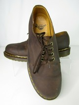 Dr. Martens Brown Leather Oxford Men's Size 10 AW004 Dress Shoes  - $45.24
