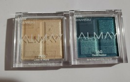 Lot 2 ALMAY Eyeshadow Quad #160 Thrill Seeker & 220 Less Is More - $9.74