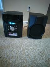 Sharp CD-BHS1050 350W 5-Disc Mini Shelf and one speaker. No suboofer. - $60.00