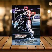 Metal Vintage  Robocop 80s Movie Bar Pub Shed Garage Man Cave SIGN  - $5.69