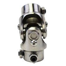 "Forged Stainless Steel Steering Shaft U-JOINT 5/8""-36 SPLINE TO 3/4"" DD Vega Box image 6"