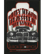 Mint COUNTRY JOE LED ZEPPELIN TAJ MAHAL Fillmore Postcard Poster - $39.99