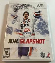 NHL Slapshot (Nintendo Wii, 2010) Complete Game - $10.00