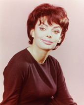 Barbara Steele 16x20 Poster in black sweater smiling 1960's - $19.99